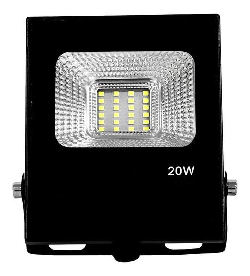 Reflector Lampara Led Ahorrador 6000k Exterior 20w Ip65 /e