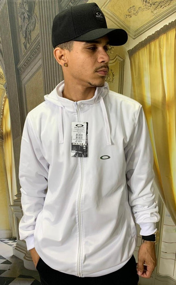 Blusão Agasalho Masculino Refletivo Branco Barato