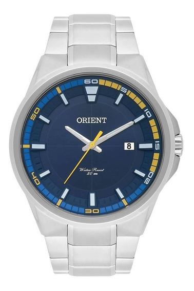 Relógio Masculino Orient Mbss1305 D2sx Analógico Prata