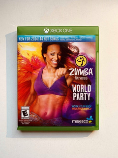 Zumba Fitness World Party Xbox One Fisico