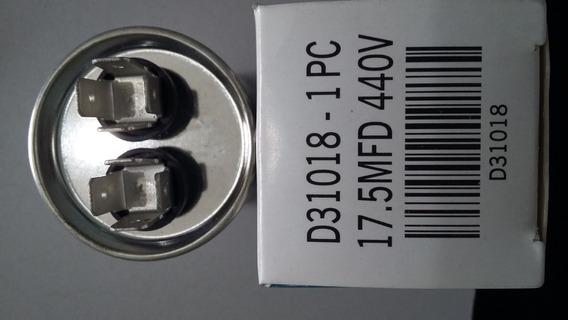 Capacitor Partida Duplo Ar Condicionado Split 17,5mf 440v