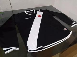Camisa Vasco Manga Longa, Umbro, 2005.