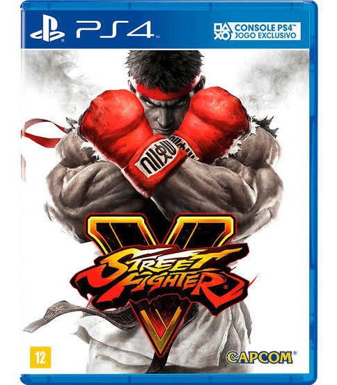 Street Fighters V Ps4 Mídia Física Exclusivo Jogo De Luta