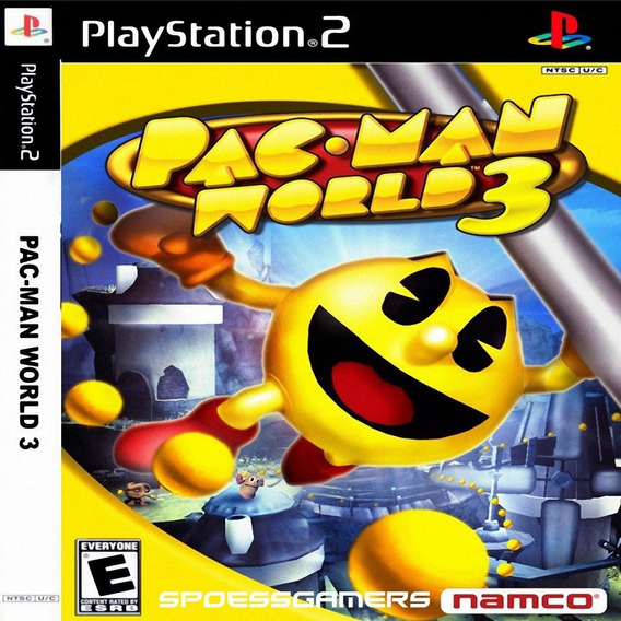 Pac Man World 3 Ps2 Desbloqueado Patch