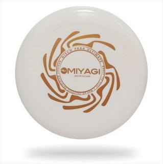 Frisbee Frisby Profesiona Ultimate 08co16 Miyagi Blanco 175g