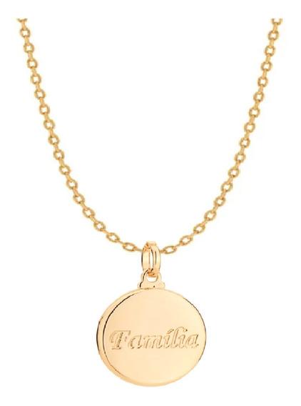 Gargantilha Rommanel Com Medalha Familia 530308 542219