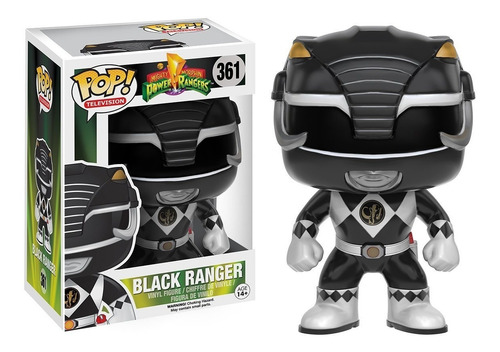 Funko Pop Power Rangers Black Ranger