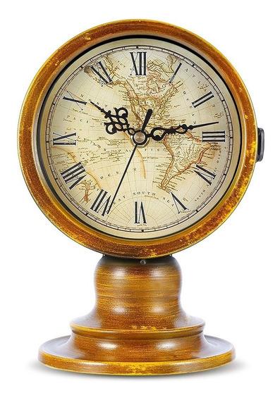Reloj De Mesa Escritorio Vintage Decoracion Estilo Europeo