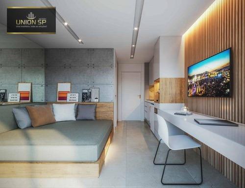 Studio Com 1 Dormitório À Venda, 24 M² Por R$ 227.000,00 - Bela Vista - São Paulo/sp - St1148