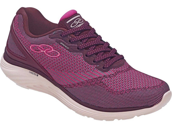 Tenis Olympikus Breed/444 Bordo/cereja
