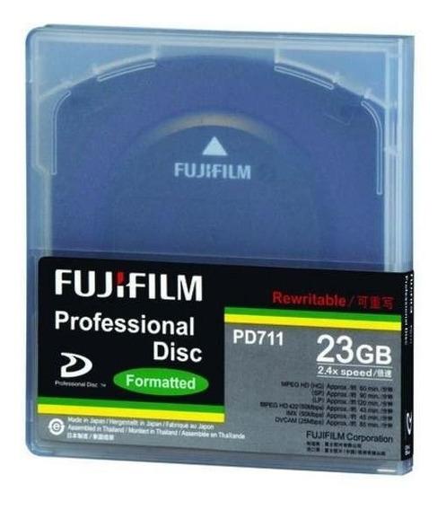 Lote De 15 Dicos Xdcam 23gb Fujifilm
