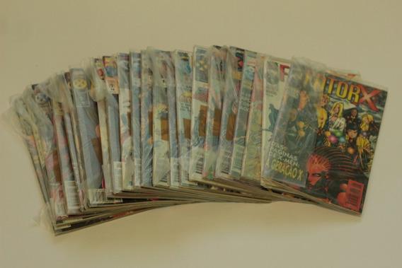 Hqs Fator-x 24 Gibis Coleção Completa Editora Abril X-factor