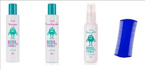 Shampoo Arruda & Citronela + Recond 200 Ml +spray 60 Ml
