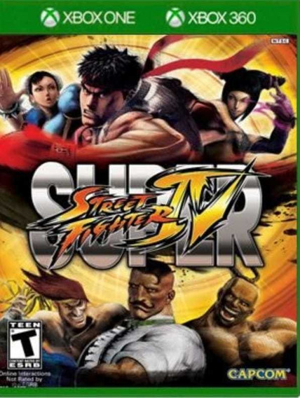 Street Fighter 4 - Xbox One - Midia Digital + Brinde