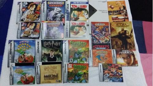 Manuales Y Caja Nintendo Sega Gameboy Game Boy Ds Gamecube