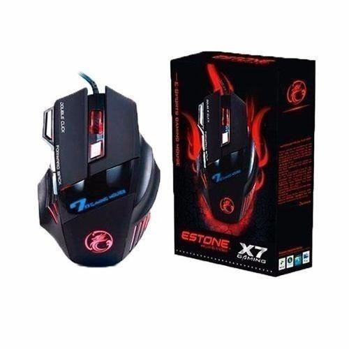 Mouse Gamer Usb Led 3200 Dpi 7 Botões Alta Precisão :)