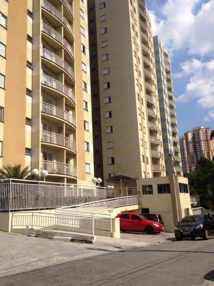 Apartamento Com 3 Dormitórios À Venda, 65 M² Por R$ 300.000 - Chácara Agrindus - Taboão Da Serra/sp - Ap0337