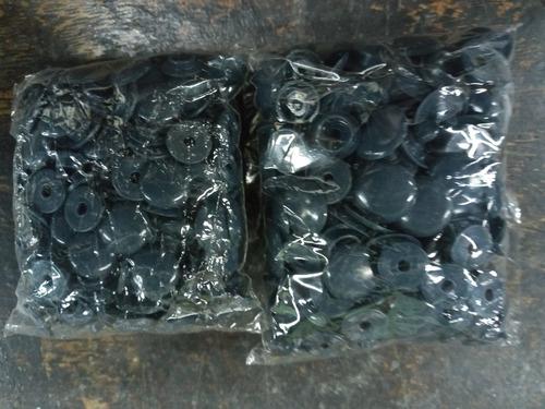 Imagen 1 de 3 de 100 Broches Presion Plastico * 13/15 * Gris Oscuro * Condal