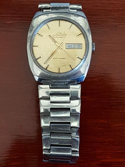 Reloj Mido Automatico Futura De Acero Con Un Eslabon Cambiad