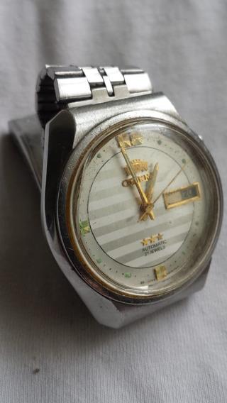 Relógio Masculino De Pulso Automático Orient - Frete Grátis