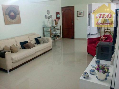 Apartamento À Venda, 110 M² Por R$ 530.000,00 - Canto Do Forte - Praia Grande/sp - Ap1059