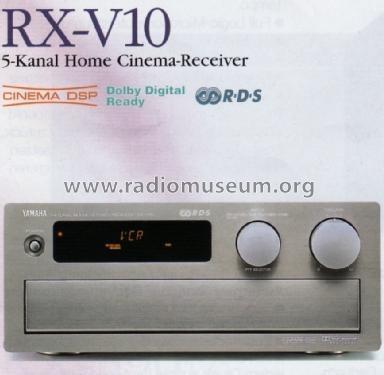 Receiver Yamaha Japonês Rx V10