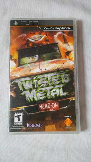 Twisted Metal Head On Psp Original Completo