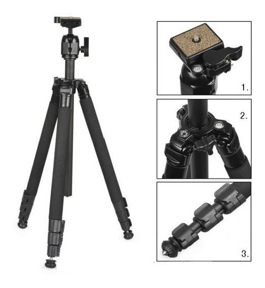 * Tripe Weifeng Wf-6662a Camera Filmadora Nikon Canon Fuji