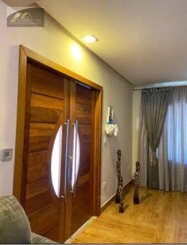 Sobrado Com 4 Dormitórios À Venda, 155 M² Por R$ 1.350.000 - Canto Do Forte - Praia Grande/sp - So0199