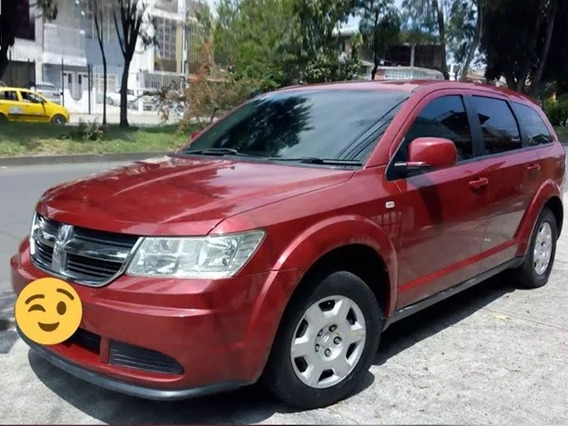Dodge Journey Modelo 2010 Automatica Color Rojo 2.4cc