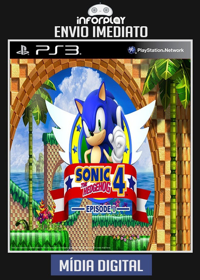 Sonic Hedgehog 4 Episodio I 1 Ps3 Psn Envio Imediato