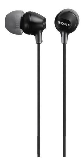 Fone De Ouvido Sony Ex Series Mdr-ex15lp Preto Conector P2