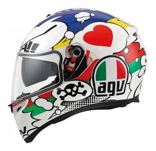 Casco Moto Pista Agv K3 Sv Comic Italy Oferta Devotobikes