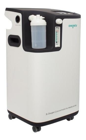 Concentrador De Oxígeno 5 Litros Y Nebulizador - Owgels
