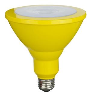 Lámpara Bajo Consumo 25w Par 38 Amarillo Sica - Stg