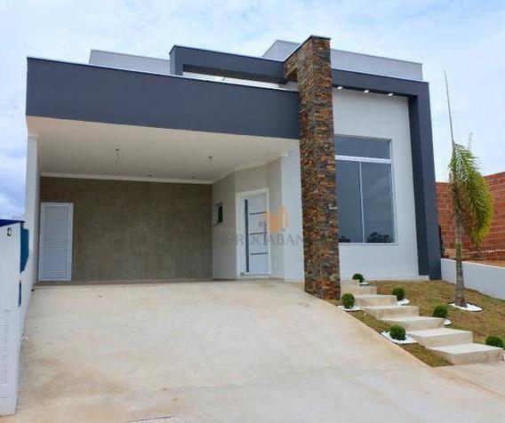 Casa Com 3 Dormitórios À Venda, 165 M² Por R$ 750.000 - Condomínio Sunlake - Sorocaba/sp - Ca0031