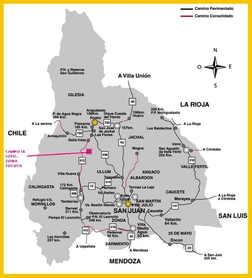 San Juan Vendo 50 Hectareas En Tocota-en Cuotas A 3 Años