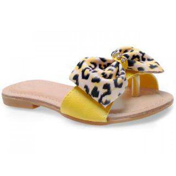 Rasteirinha Pampili 409.017 - Amarelo - Delabela Calçados