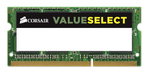 Imagen 1 de 3 de Memoria Ram Notebook Ddr3 4gb 1600mhz Corsair Sodimm