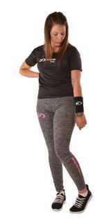 Calza Larga Lycra Jaspeada De Mujer Deportes Full Df S - Xxl
