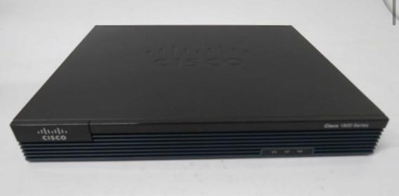 Roteador Cisco 1900 Series Modelo 1905/k9 Com Módulo Serial