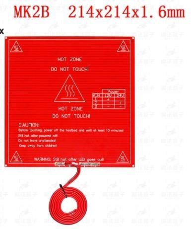 Kit Impressora 3d Mesa Aquecida 214x214