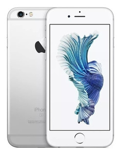 iPhone 6s Plus 64gb Silver Lacrado Com Nota Fiscal E Garanti