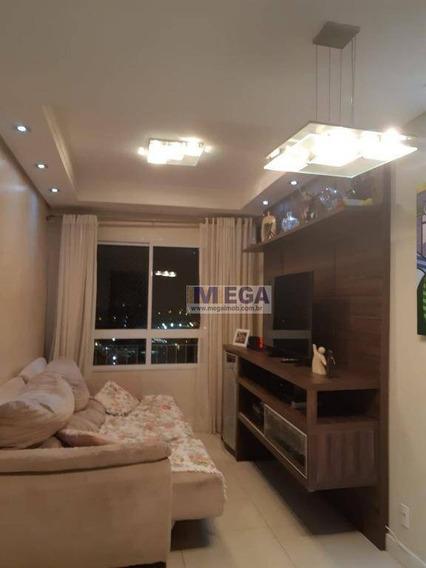 Apartamento Com 3 Dormitórios À Venda, 64 M² Por R$ 318.000,00 - Chácara Das Nações - Valinhos/sp - Ap3521