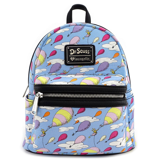 Mini Mochila Doctor Seuss Goblo Cielo New Original Loungefly