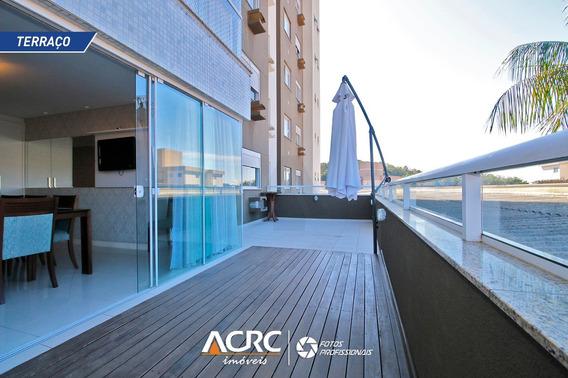 Acrc Imóveis - Apartamento No Terraço Mobiliado Para Venda No Bairro Escola Agrícola Em Blumenau - Ap02773 - 34311887