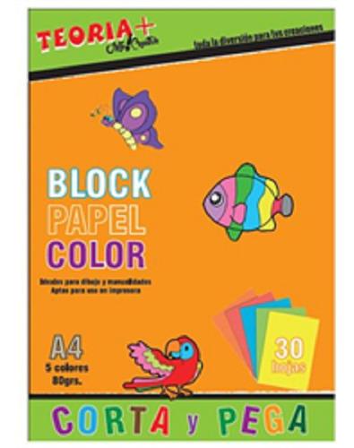 Block A4 Color Teoria