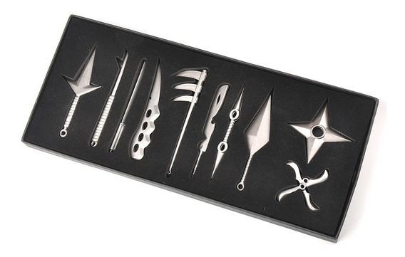 Set 10 Armas Naruto Anime, Cosplay, Kunai, Cuchillo, Espada