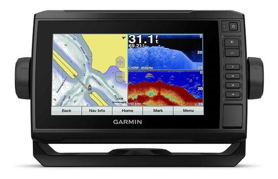 Gps Garmin Echomap 72/73cv Plus Com Transdutor Carta Nautica