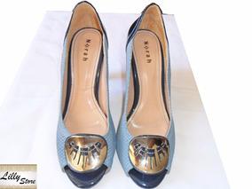 Sapato Feminino Peep Toe Norah Tam 39